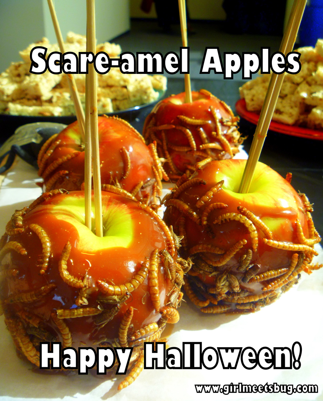 Caramel Apples and Bugs
